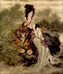 Lady With Tiger